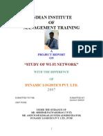 sanjay wifi Project IIMT PUNE