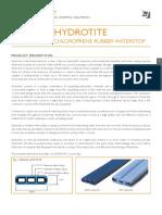 Hydrotite - Brochure