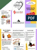 Leaflet Diabetes