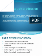 Costes de Produccion