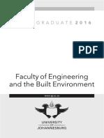 UJ FEBE Undergrad Yearbook 2016 FINAL