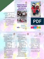 Misión Del Ministerio de Niños - Triptico