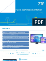 ZTE EReader and ZED Documentation(Generic Document With Registration Process)