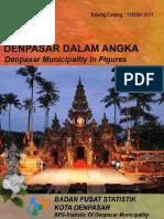 Kota Denpasar Dalam Angka 2017
