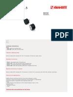 Catalog Tampoane Cilindrice Cauciuc - ELESA GANTER