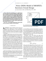 3.Drifting-Dipole Noise (DDN) Model of MOSFETs for Microwave Circuit Design