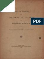1911 - Direccion General de Explotacion Del Petroleo de Comodoro Rivadavia