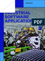 [de Gruyter Textbook] Rainer Geisler - Industrial Software Applications_ a Master's Course for Engineers (2015, De Gruyter Oldenbourg)
