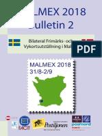 Malmex 2018 Bulletin 2