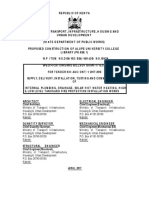 2 Plumbing and Drainage Tender Document