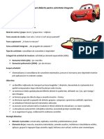 Proiect Didactic Pentru Activitate Integrata    dpm