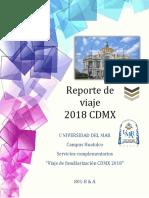 Reporte de Viaje 2018 (1)