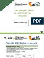 2. Pasos Para La Creación Del Portafolio Del Aprendiz en LMS 2017