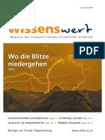 wissenswert Juni 2018 - Magazin-der-Leopold-Franzens-Universität-Innsbruck
