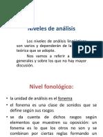 Niveles de Analisis