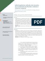 Radiofrequência - Método Não Invasivo Para Tratamento Da Flacidez Cutânea e Contorno Corporal