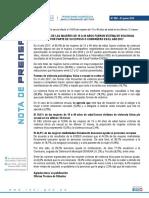 Nota de Prensa No 090 2018 Inei