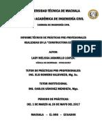 Levantamiento Topográfico, Prediseño de Urbanización en El Sitio El Tablón en El Cantón Portovelo y Toma de Datos en El Río Casacay