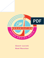 Organization after Social Media