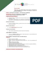 Perfil Supervisor de Seguridad - Perforacion Diamantina