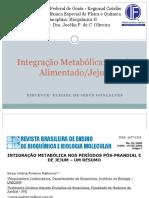 Integração Metabólica -