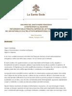 Papa Francesco 20180609 Imprenditori Energia