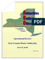 Erie County Water Authority Final Report