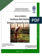 Condiciones Edafoclimaticas, Morfologia y Propagación de Las Plantas