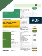 Planilha Controle Financeiro CFF - CFE
