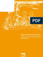 Participatory Advocacy a Toolkit for VSO Staff Volunteers and Partners
