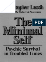 LASCH, Christopher - The Minimal Self Psychic Survival in Troubled Times