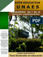 Vision Educativa150042013