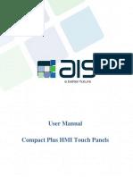 AIS Compact Plus HMI Touch Panels_User Manual