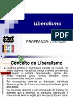 LIBERALISMO EM SEU CONCEITO MAIOR