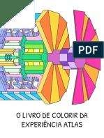 O Livro de Colorir Da Experiência ATLAS - A4