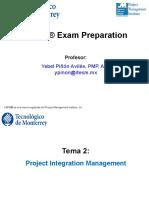 2. Integration (PPT) - Chapter 4 PMBOK