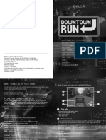 Downtown Run Manual ENGLISH