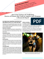 Surviving Violence & Trafficking - Excerpts From the Red AVP Research Report