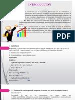 Aplicaciones de Ecuaciones Diferenciales a La Economía (