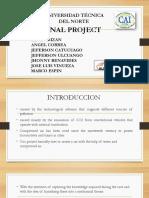 Presentacion Del Proyecto