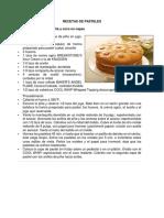 recetas de pastel, galleta.docx
