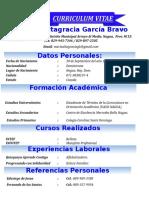 Curriculum María Altagracia García Bravo