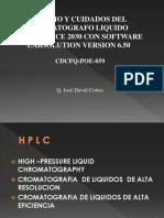 Presentacion HPLC 2030
