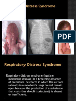 Respiratory Distress Syndrome (Newborn)