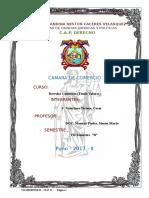 Valeriano Ticona, Cesar - Camara de Comercio