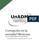 Corrupción en La Sociedad Mexicana
