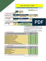 Análisis Sísmico PAY PAY Ref