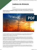 El Uso de Indicadores de Eficiencia Energética _ Energía _ Apuntes Empresariales _ ESAN