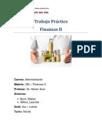 TP Finanzas II- Grupo 3 - Giffoni%2c Burzi