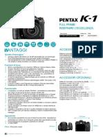 K-1 Factsheet IT